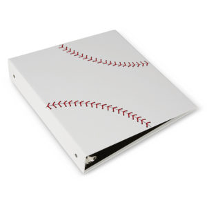Baseball 3 Ring Binder