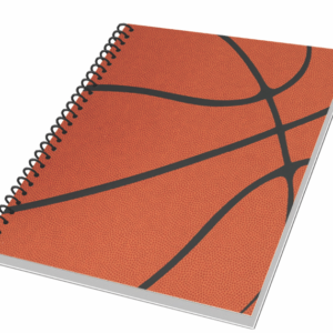 3 Spiral Notebooks Plus Pencil NBA Basketball