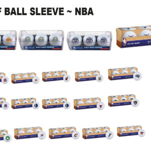 NBA Basketball Golf Ball Sleeve