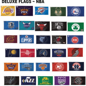 NBA Basketball Team Flags