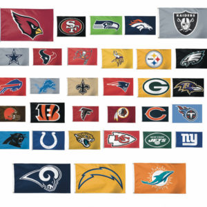 NFL Football Team Flags
