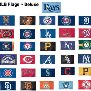 MLB Baseball Team Flags